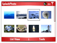 SplashPhoto photo viewer for your Smartphone